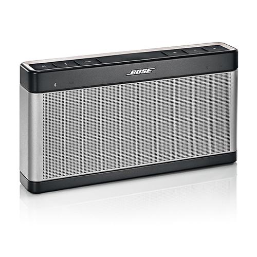 bose soundlink iii portable bluetooth speaker silver black ebay. Black Bedroom Furniture Sets. Home Design Ideas
